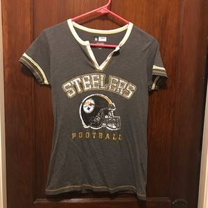 Pittsburgh Steelers distressed T-shirt